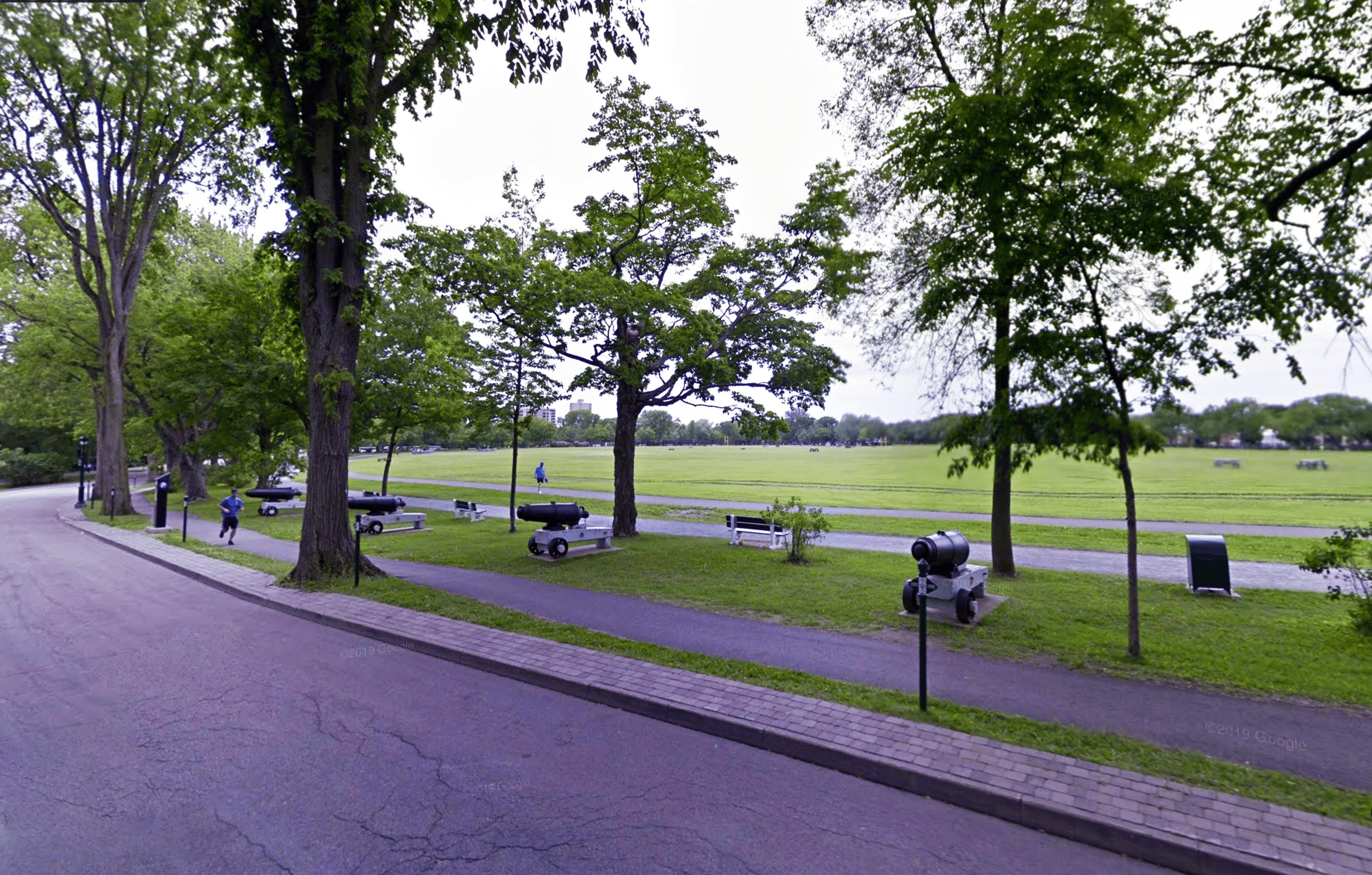 Les meilleurs endroits où courir à Québec, Les Plaines d'Abraham