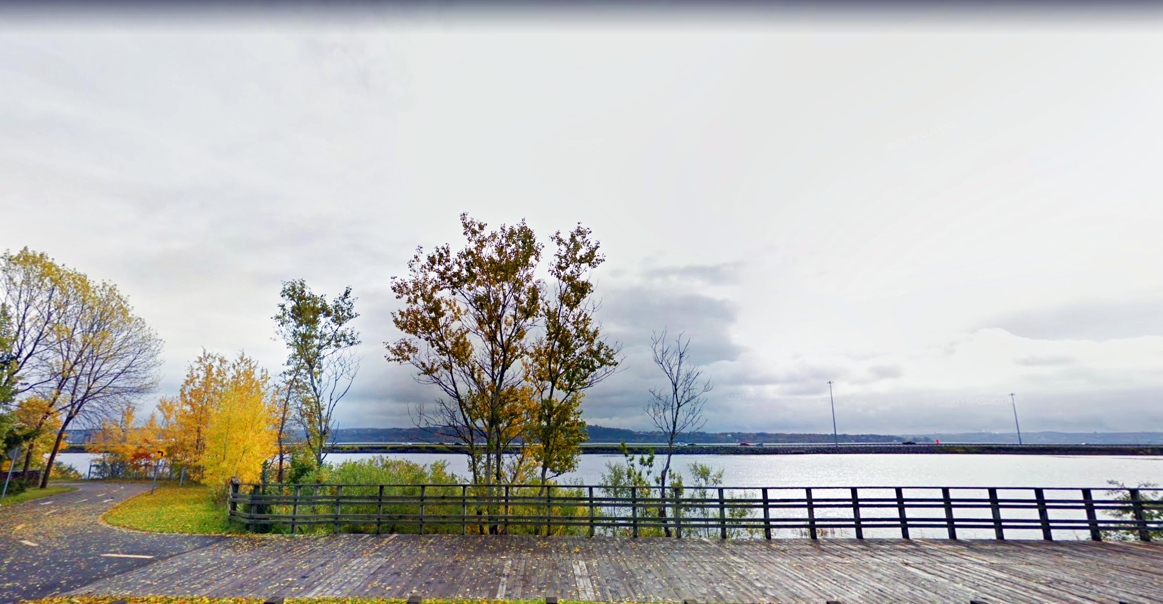 Les meilleurs endroits où courir à Québec, Corridor du Littoral