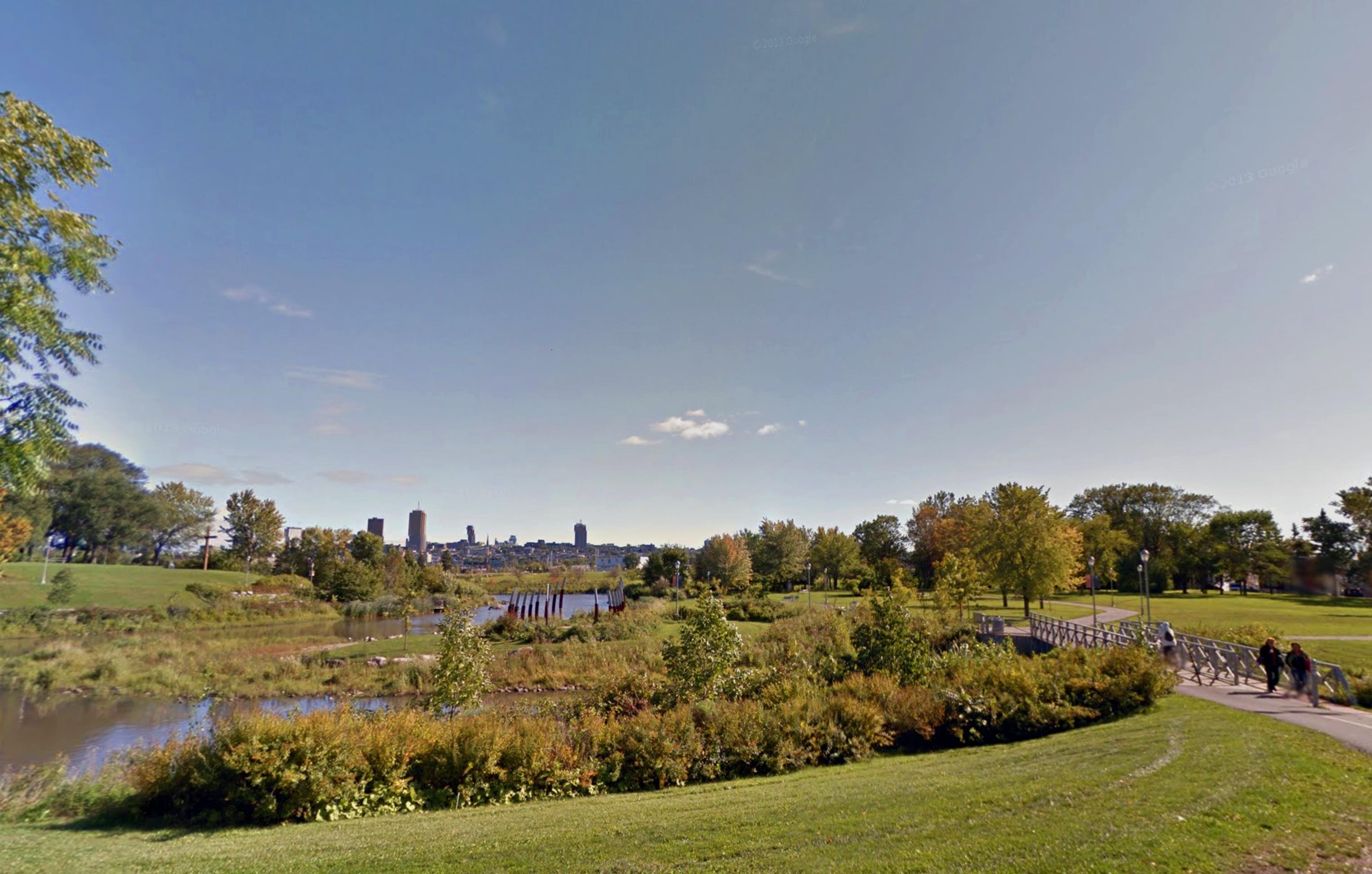 Les meilleurs endroits où courir à Québec, Parc Linéaire de la rivière Saint-Charles
