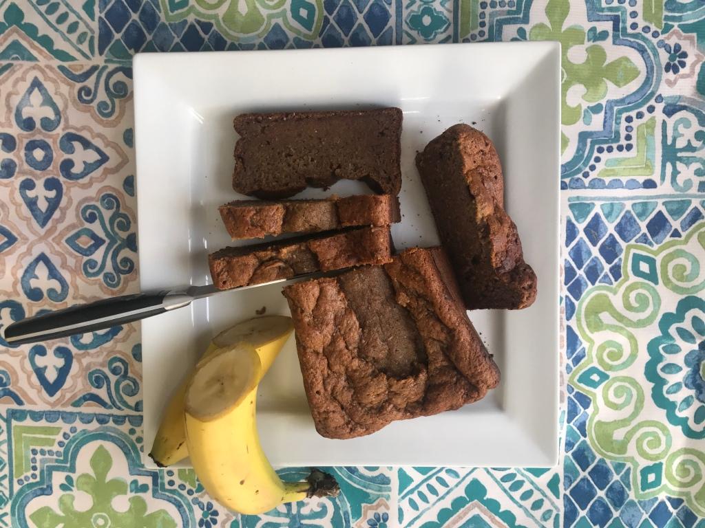 Pain aux bananes sans sucre ajouté
