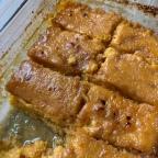 Recette : Pouding de patates douces à l'érable
