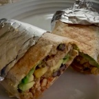 Recette : Burritos végétariens au tempeh et au quinoa
